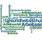 Word Cloud - Gesundheitsschutz und Arbeitssicherheit