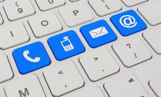 Kontaktformulare, E-Mail-Werbung