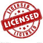 Licensed stamp