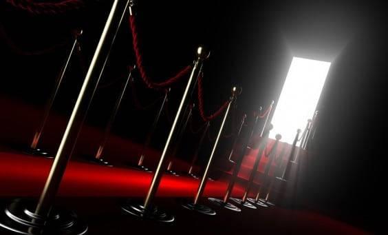 Red carpet for fame