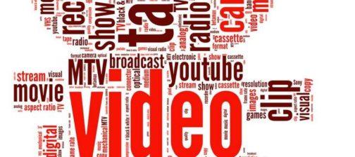 Video camera word cloud