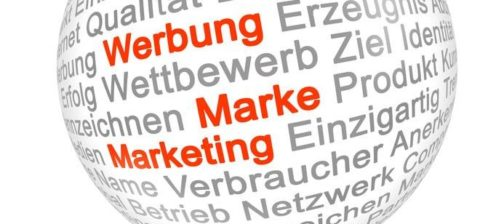 Werbung Marketing