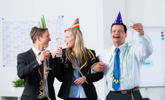 Betriebsfeiern