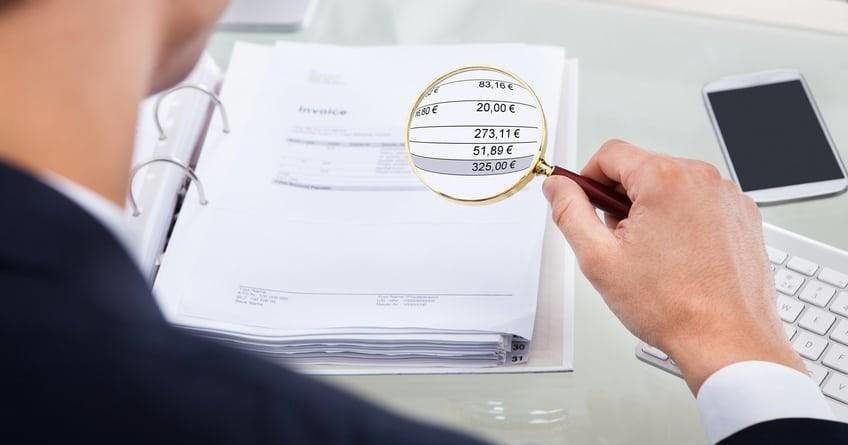 Wirtschaftlichkeit, Vertragsbestandteile, Rechnung