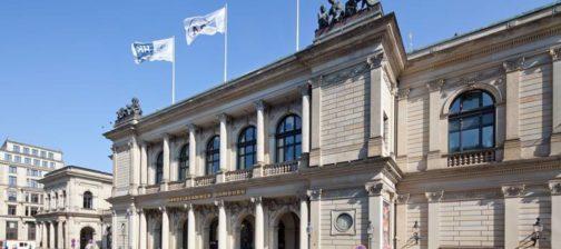 Handelskammer Hamburg von außen