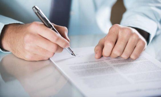 Vertrag, Haftung, Schriftform, Vertragstypen